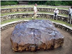 ナミビアのホバ隕鉄